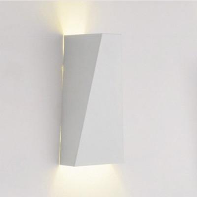 Wandlampe Geometric   Weiß