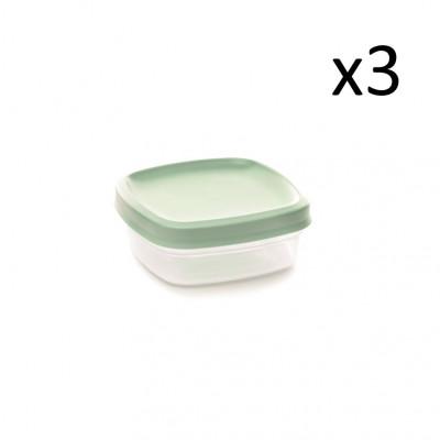 3er-Set Aufbewahrungsboxen Vacutop 350 ml