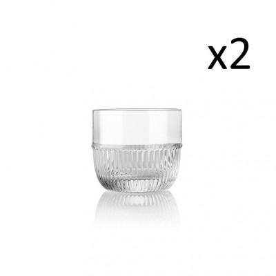Glass Small Bar | Set of 2