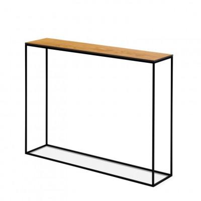 Konsolenschrank Orsay 80 x 22 x 78 cm | Braun