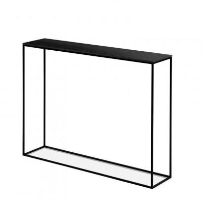Konsolenschrank Orsay 80 x 22 x 78 cm | Schwarz