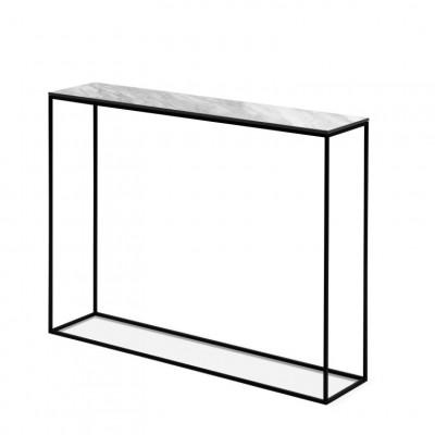 Konsolenschrank Orsay 91 x 22 x 78 cm | Weiß