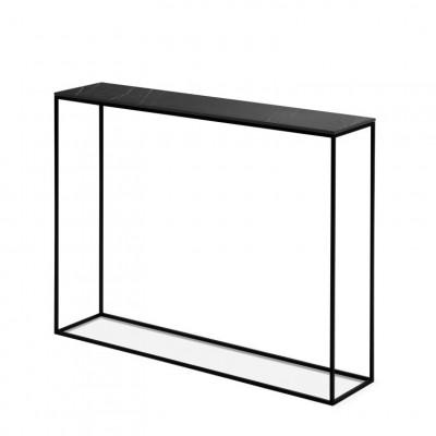 Konsolenschrank Orsay 91 x 22 x 78 cm | Grau