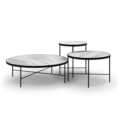 Beistelltisch Orsay 3er Set | Terazzo Marmor