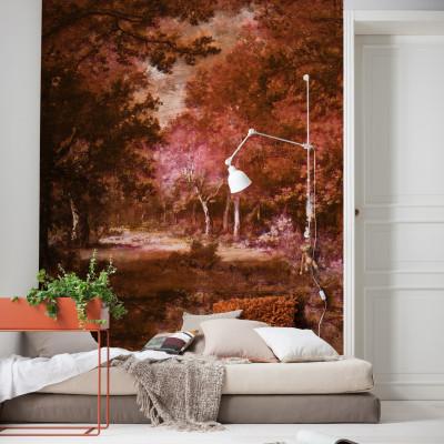 Wandbild Autumna Rosso | 200 x 280 cm