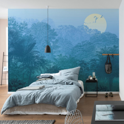 Wandbild Deep in the Jungle | 400 x 280 cm