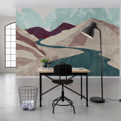 Wandbild Terra | 400 x 280 cm