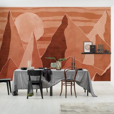 Wandbild Desert Mile | 400 x 280 cm