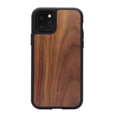 iPhone-Hülle | Bumper Case | Nussbaumholz & Schwarz
