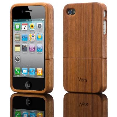 Slimcase I-Phone 4/4S walnut