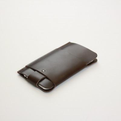 Slim Fit iPhone Case   Brown