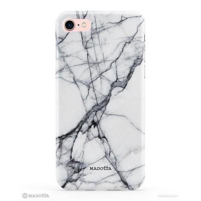 Smartphone-Hülle aus weißem Marmor