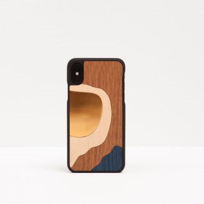 Smartphone Bronze   Blue