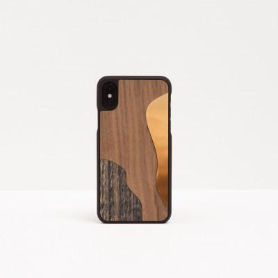 Smartphone Bronze   Walnut
