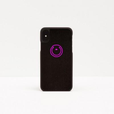 Smartphone Case Smiley | Pink