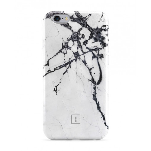 Black and White Marble Smartphone Case