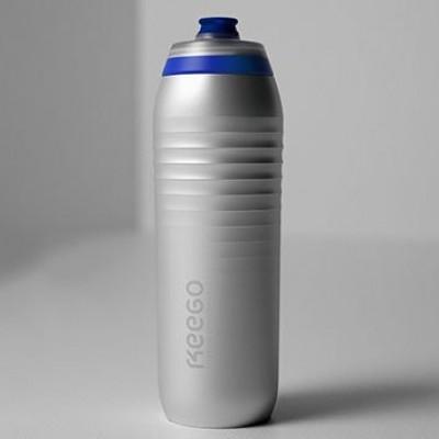 Quetschbare Titan-Flasche | Silber