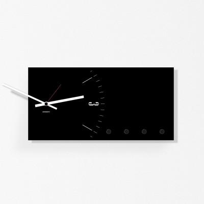 Wandorganisator / Uhr | Schwarz