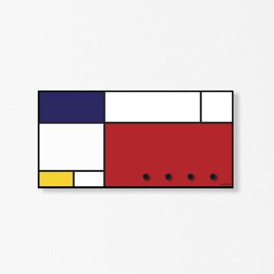 Mauer-Organisator Mondrian