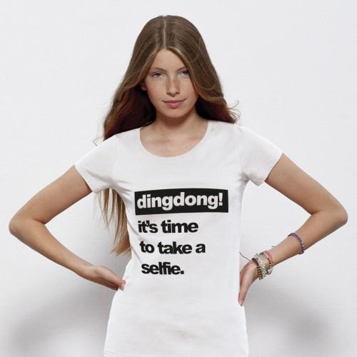 T-shirt | Woman | It's Time To Take A Selfie