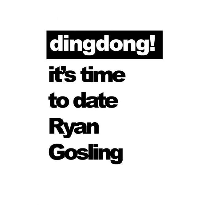 Tanktop   Woman   It's Time To Date Ryan Gosling
