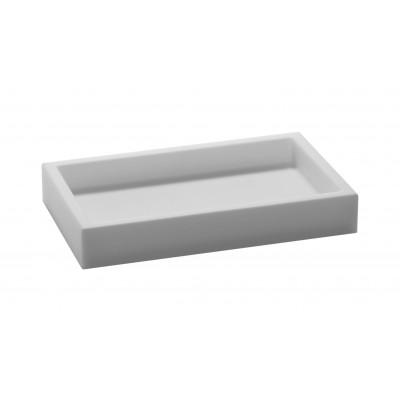 Niedriger Container Ivasi | Weiß