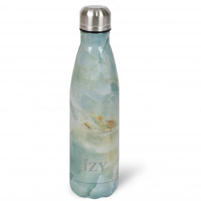 Thermo Trinkflasche 500ml | Marmor Grün
