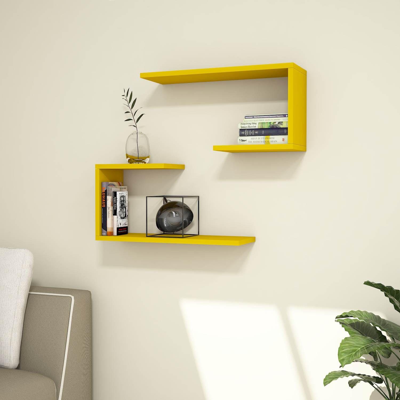 Shelf J2 Set of 2   Yellow