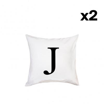 2er-Set Kissenbezügen | J