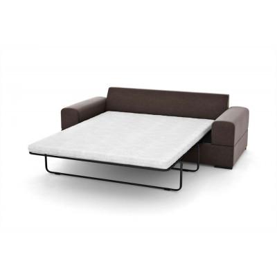3-Sitzer-Schlafsofa Dasha | Schokolade