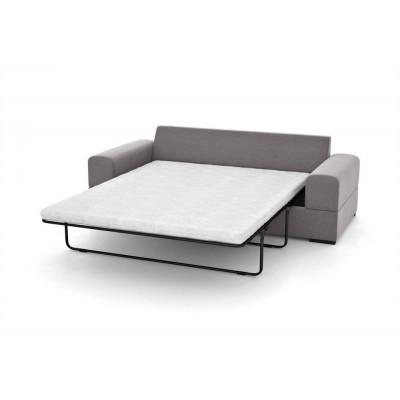 3-Sitzer-Schlafsofa Dasha | Taupe