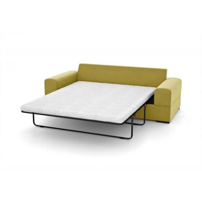 3-Sitzer-Schlafsofa Dasha | Gelb