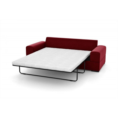 3-Sitzer-Schlafsofa Dasha | Rot