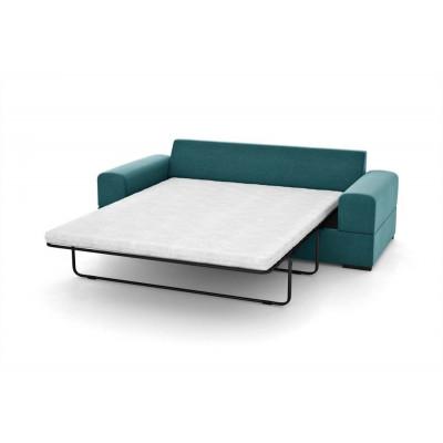 3-Sitzer-Schlafsofa Dasha | Türkenblau