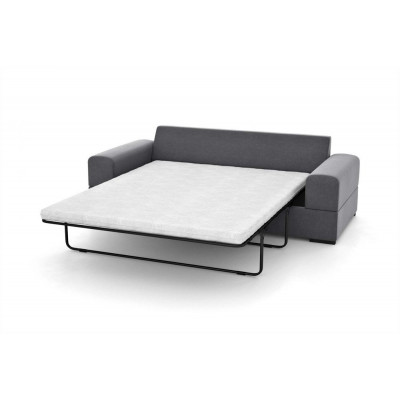 3-Sitzer-Schlafsofa Dasha | Grau