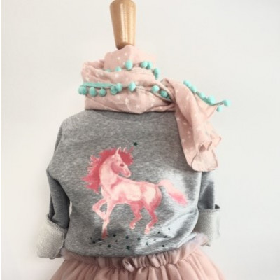 Girl's Sweater   Jackie The Unicorn