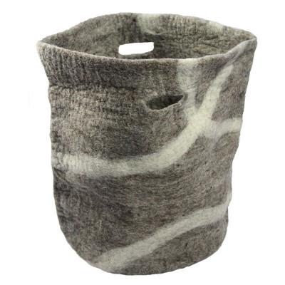 Basket Jamma   Brown-Grey/White