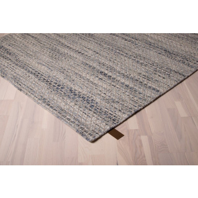 Teppich Java | Grau/Blau