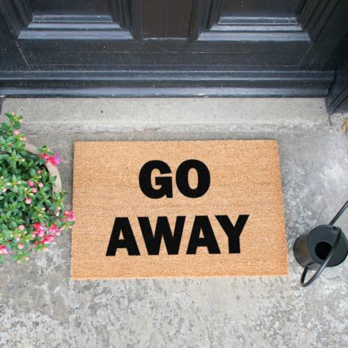Fußmatte   Go Away