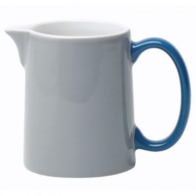 My Milk Jug grey, blue handle