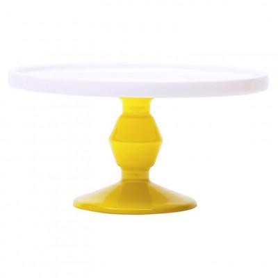 Cake Stand Mini Yellow