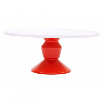 Cake Stand Large Red