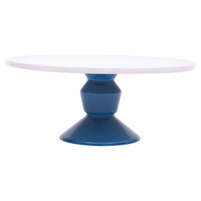 Cake Stand Large Blue