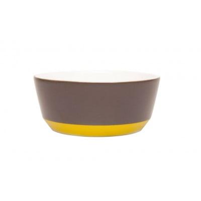 My Bowl Anthracite-Yellow