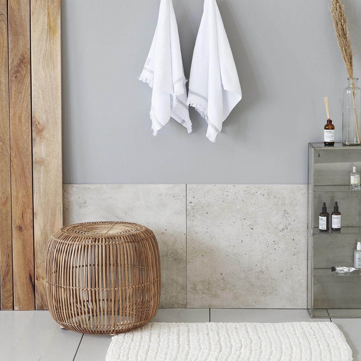 Teppich Crochet 60 x 90 cm | Grau