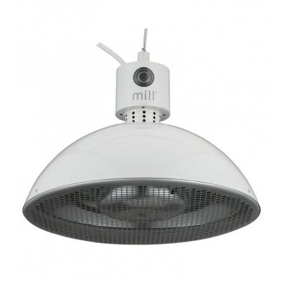 Infrared Outdoor Patio Heater Mill | Light Grey