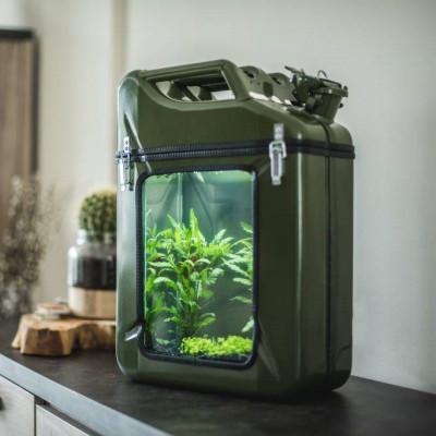 Jerrycan Aquarium AquaCan | Grün
