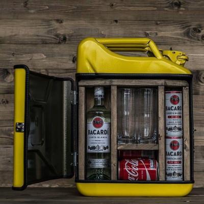 Kanister-Minibar | Gelb