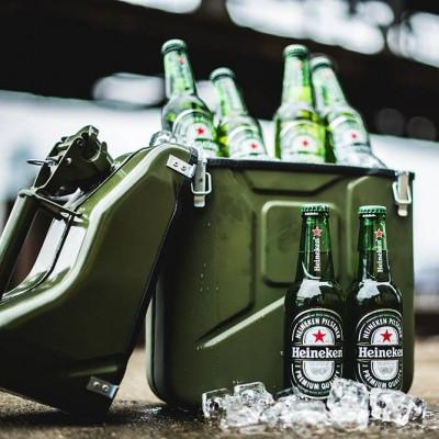 Kanister 10L Kühlbox | Grün