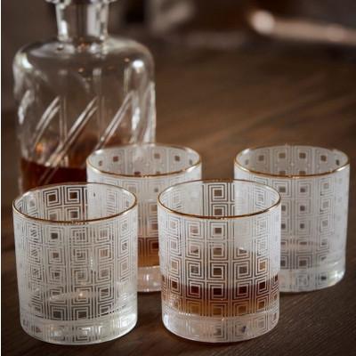 Whiskyglasur GEO | 4er-Set